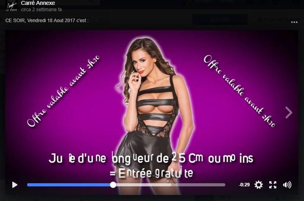 Francia, polemiche per lo spot sessista di una discoteca
