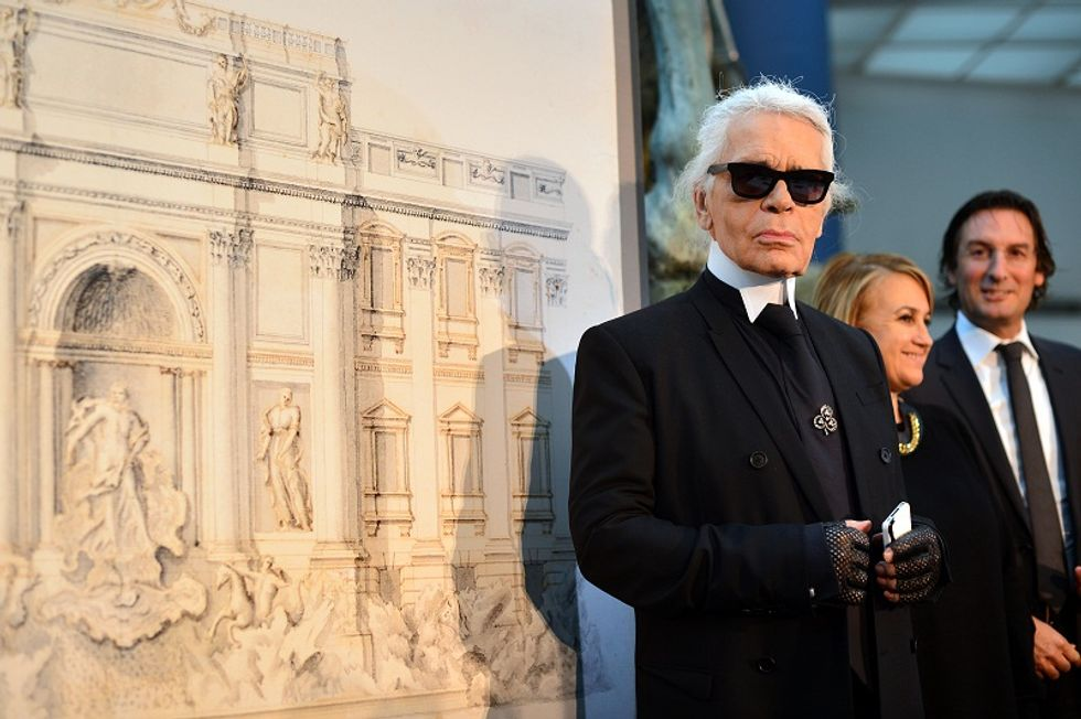 Karl Lagerfeld Rome's fountains photos to be exhibited in Paris