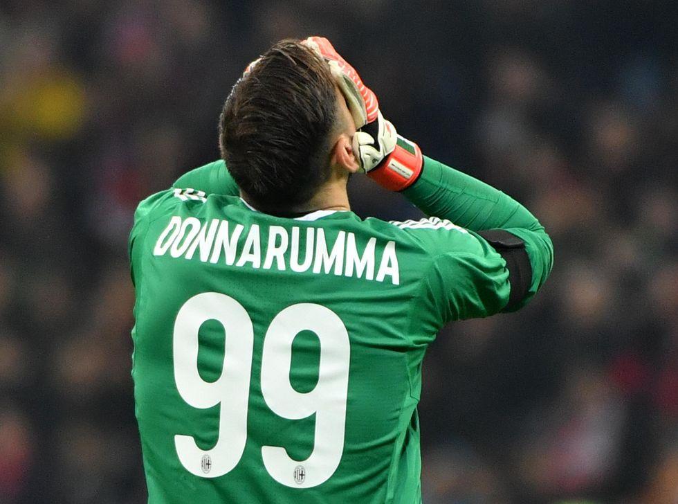 Gianluigi Donnarumma milan calciomercato contratto scadenza