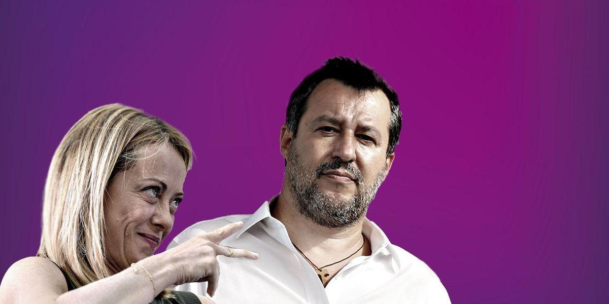 Giorgia Meloni Matteo Salvini