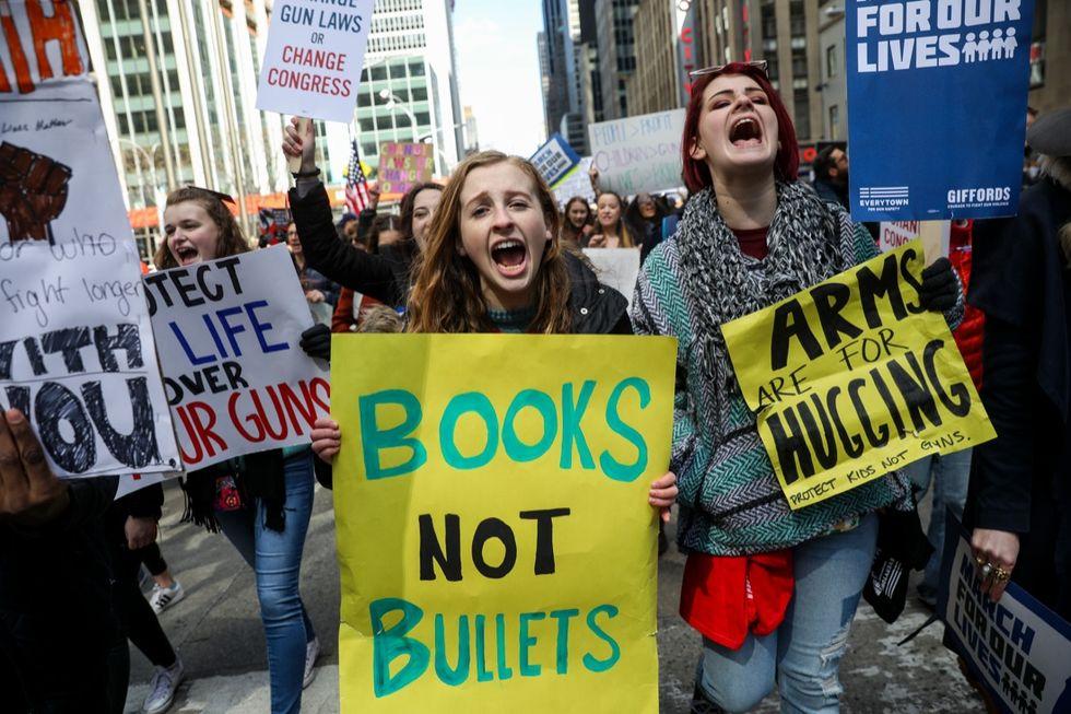 protesta armi usa