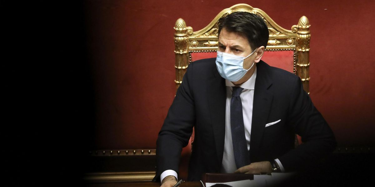 giuseppe conte senato fiducia maggioranza governo crisi renzi