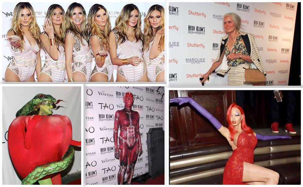 Gli Halloween di Heidi Klum