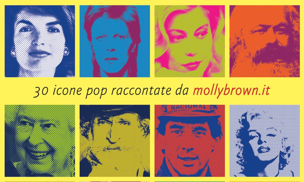 Gli inaffondabili . 30 icone pop raccontate da mollybrown.it di Silvia Andreoli, Anna Di Cagno, Marina Moioli, Luca Pollini