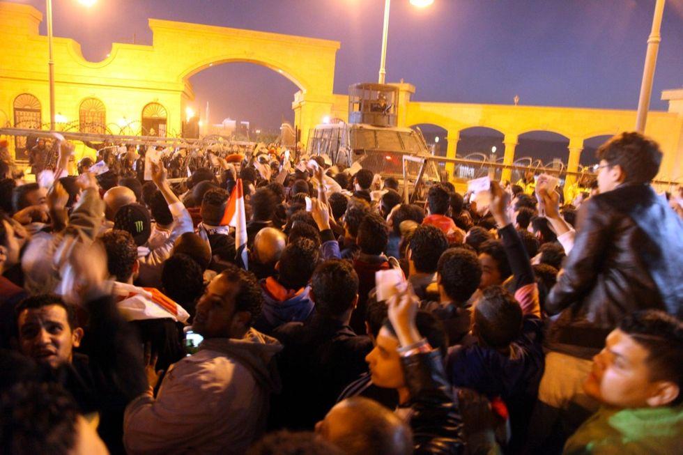 Egitto, le immagini degli scontri allo stadio