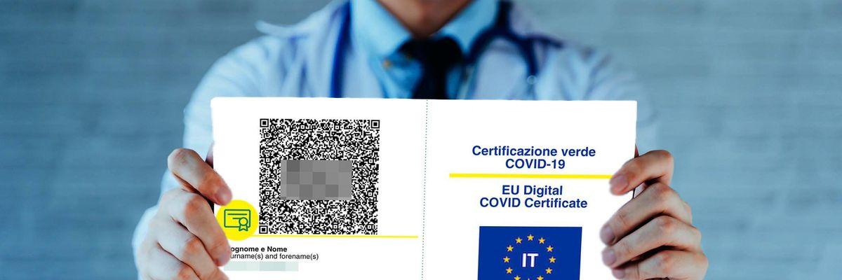 no vax green pass certificazione verde