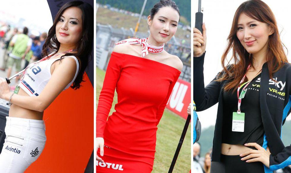 Grid Girls MotoGP del Giappone 2015