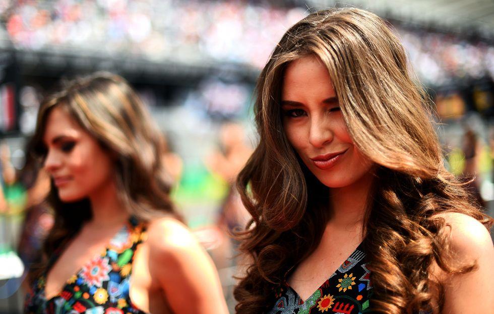 Grid Girls ragazze Formula 1 2015