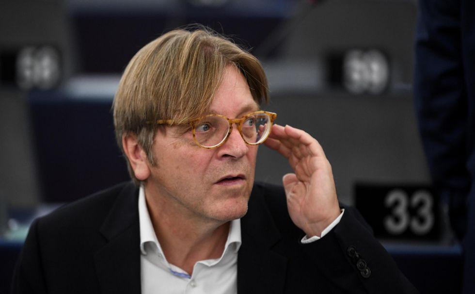 Guy Verhofstadt Alde Parlamento Europeo