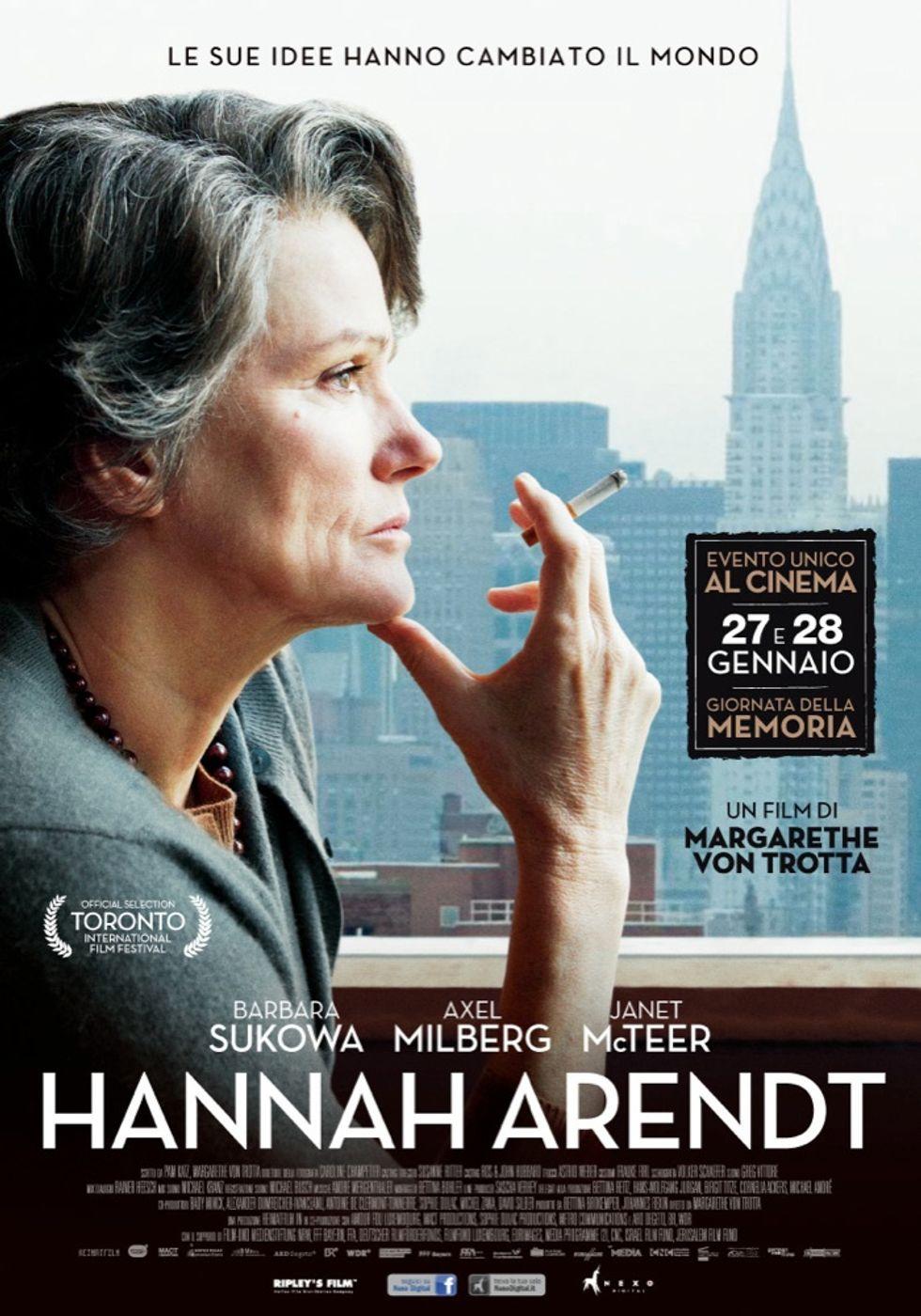Margarethe von Trotta: Hannah Arendt e Adolf Eichmann
