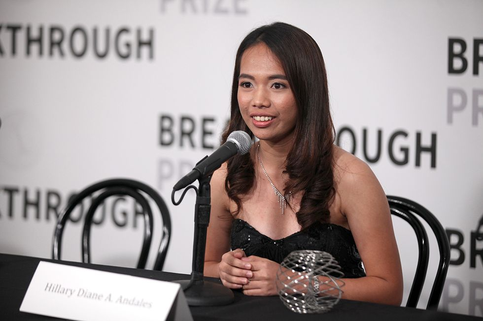 Hillary Andales ha vinto il Breakthrough Prize 2018