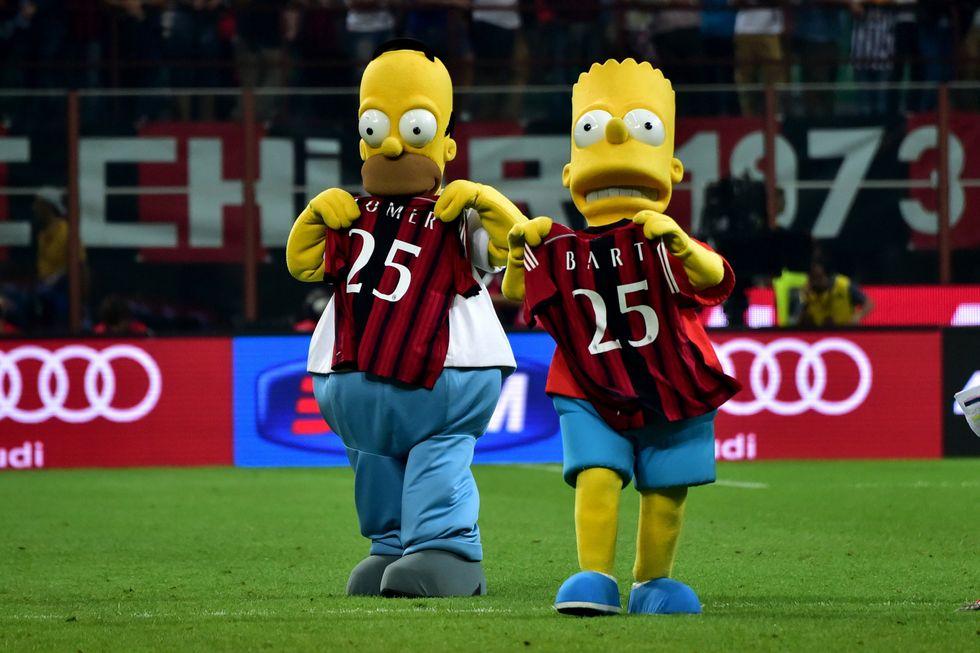 Milan-Juventus: le immagini più belle