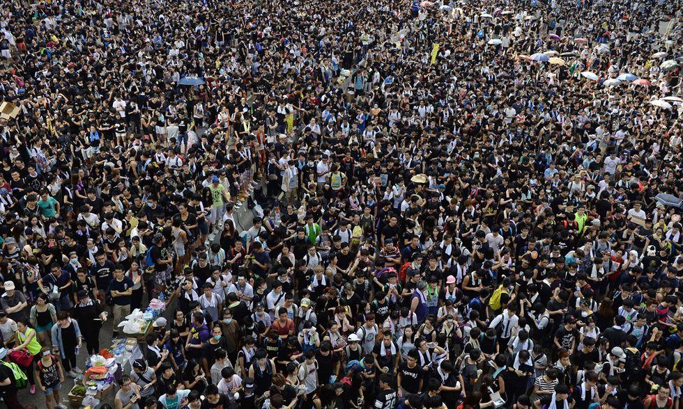 Hong Hong, le foto dei manifestanti per la democrazia