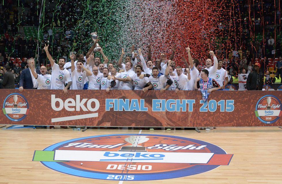 Final 8: Sassari batte Milano e rivince la Coppa Italia