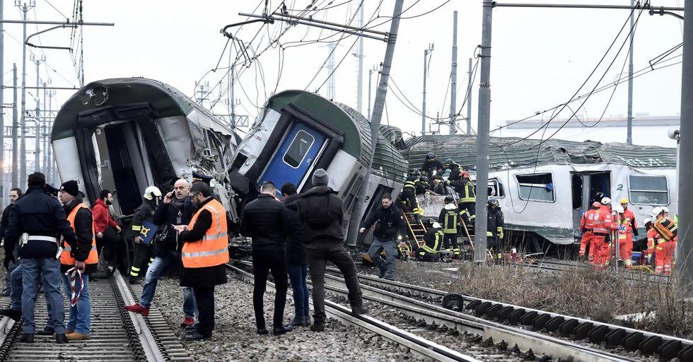 Incidente treno a Pioltello