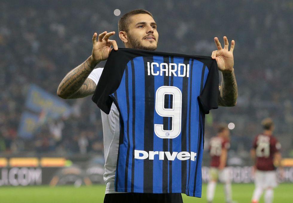 Icardi Inter Milan tripletta derby gol critiche
