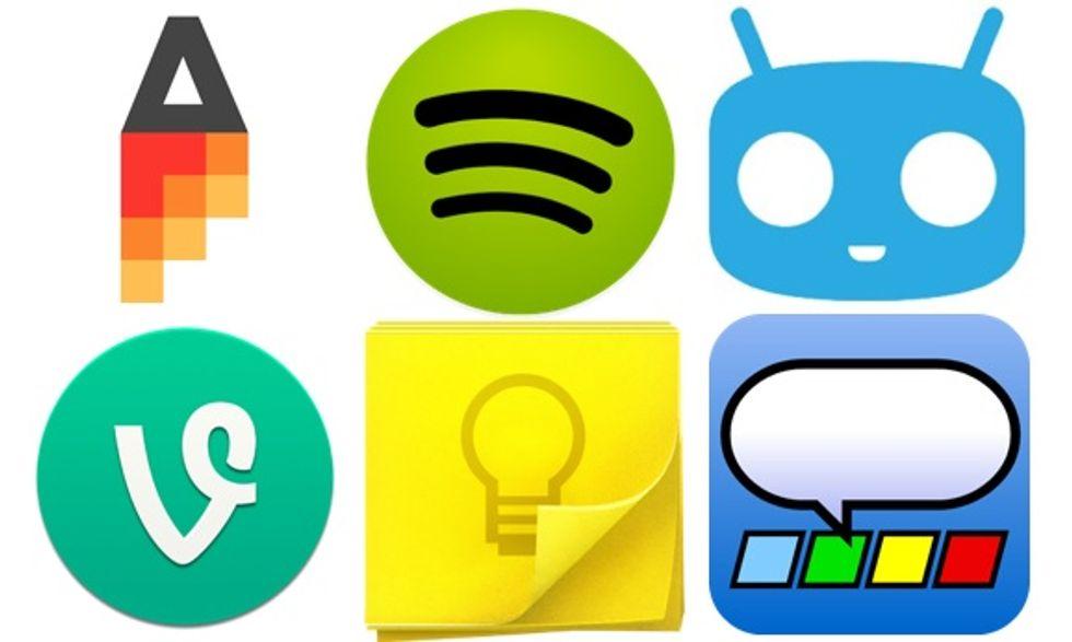 Le 10 migliori app del 2013 per Android