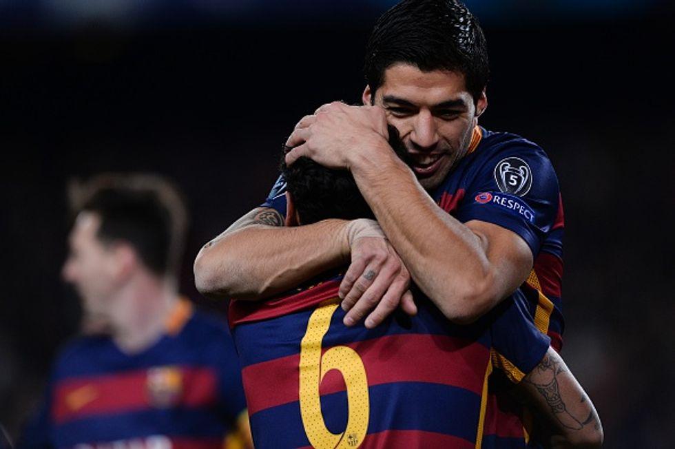 Barcellona-Roma 6-1: Messi e Suarez umiliano Garcia