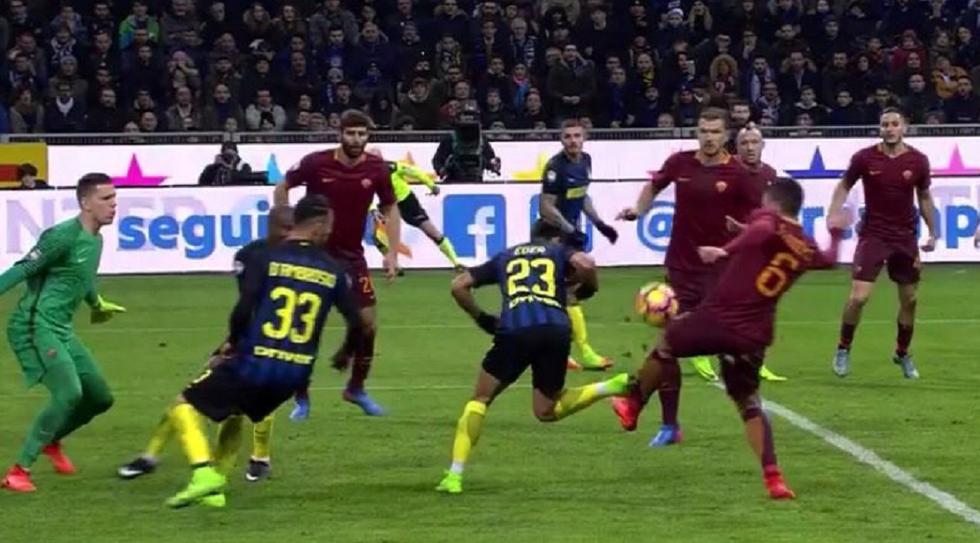 Var: Inter-Roma e Sassuolo-Milan: ecco la moviola in campo