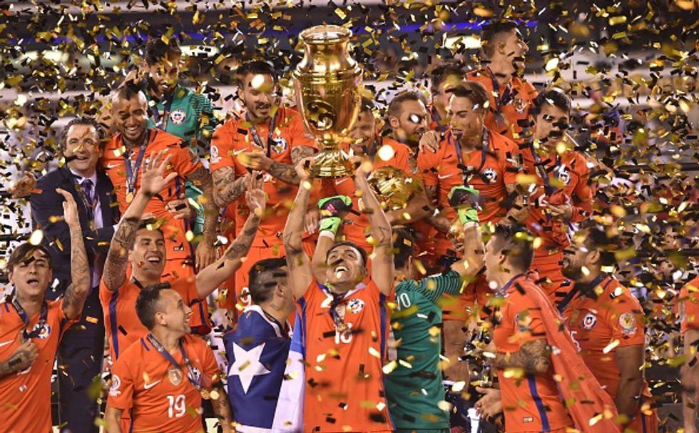 Copa America: bis del Cile ai rigori, Messi sbaglia e dà l'addio all'Argentina