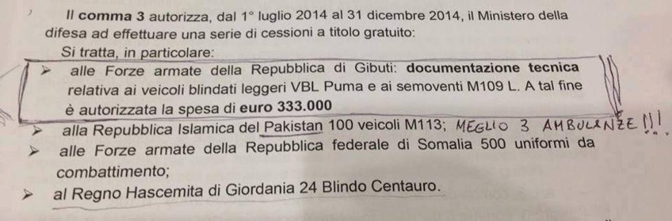 I 5Stelle e le traduzioni per Gibuti da 330mila euro