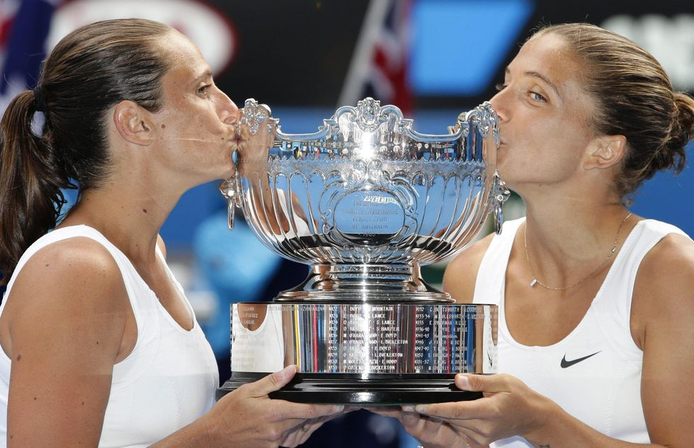Errani-Vinci, trionfo agli Australian Open