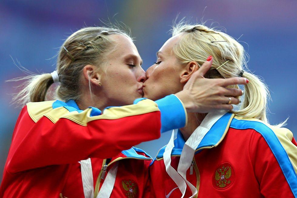La staffetta russa senza lesbiche