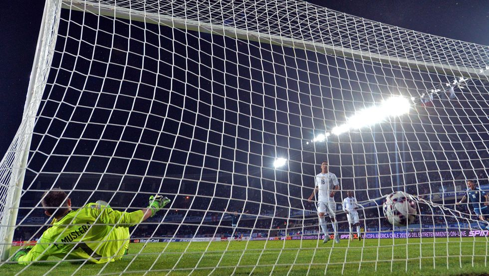 Copa America, i goal: Argentina-Uruguay 1-0, Paraguay-Giamaica 1-0