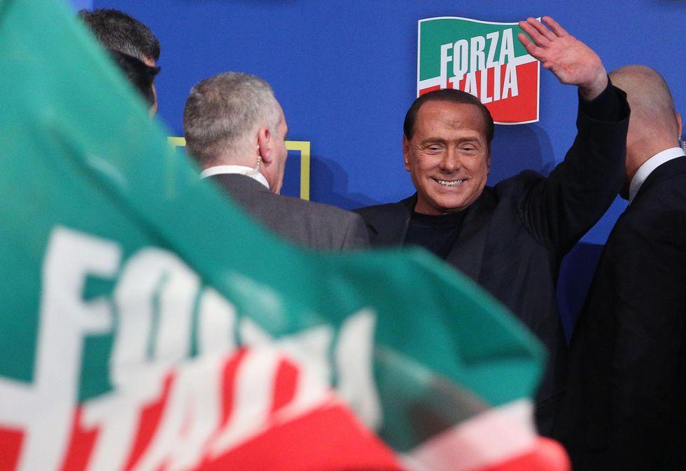 La diretta della conferenza stampa di Silvio Berlusconi