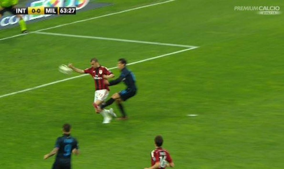 31° giornata - Inter, era rigore: a Mancini mancano 8 punti