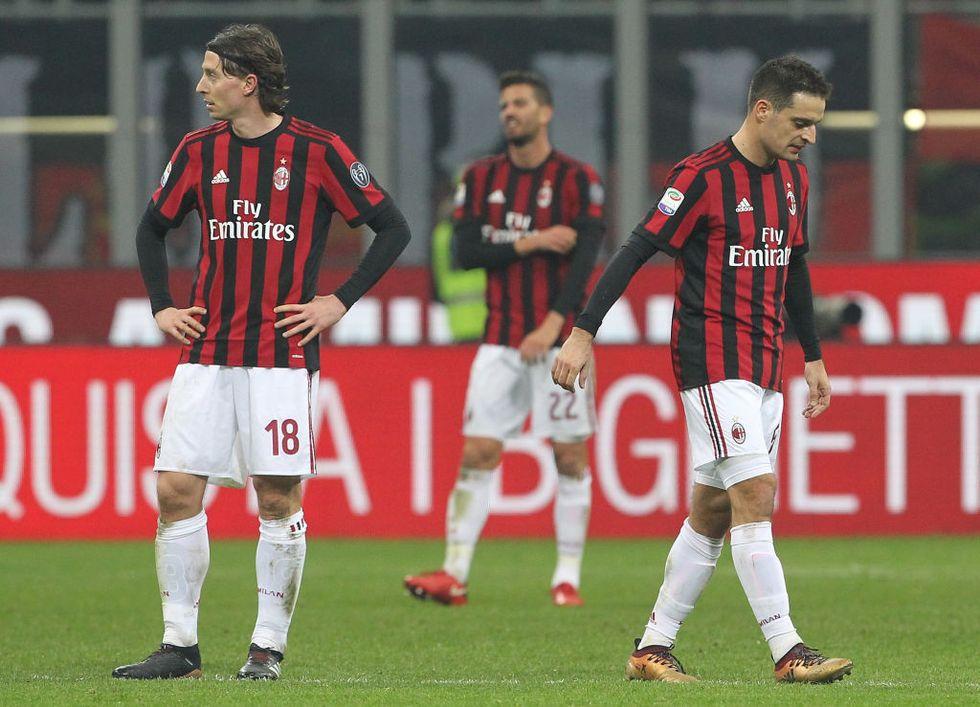 Milan Inter crisi Gattuso Spalletti