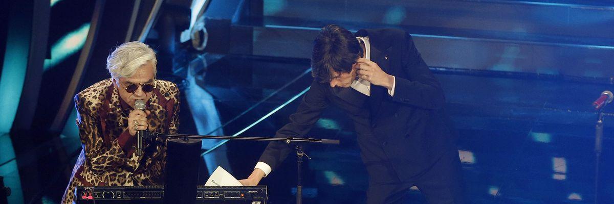 Sanremo 2020: Morgan attacca Bugo che lascia il palco, squalificati dal Festival