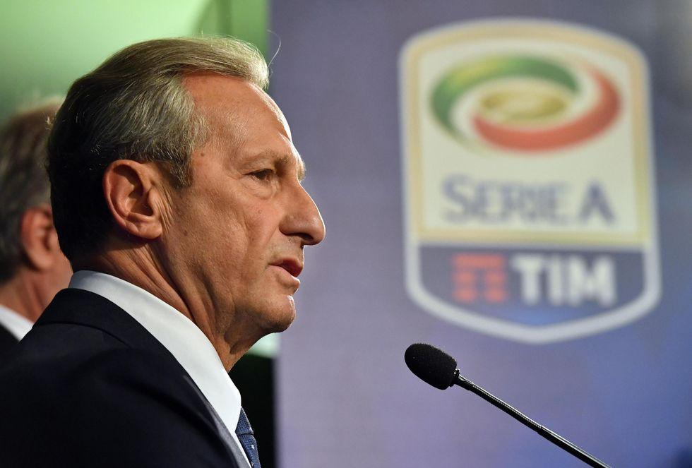 Gaetano Miccichè presidente Lega Serie A