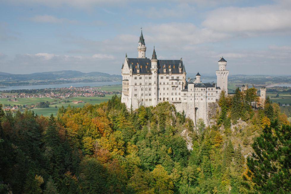 I 10 castelli a strapiombo più belli al mondo