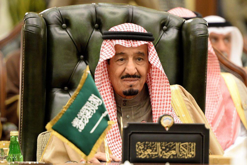 Re Salman dell'Arabia Saudita