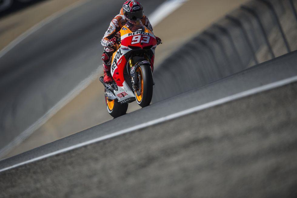 MotoGp, Laguna Seca: Marquez re, Rossi podio