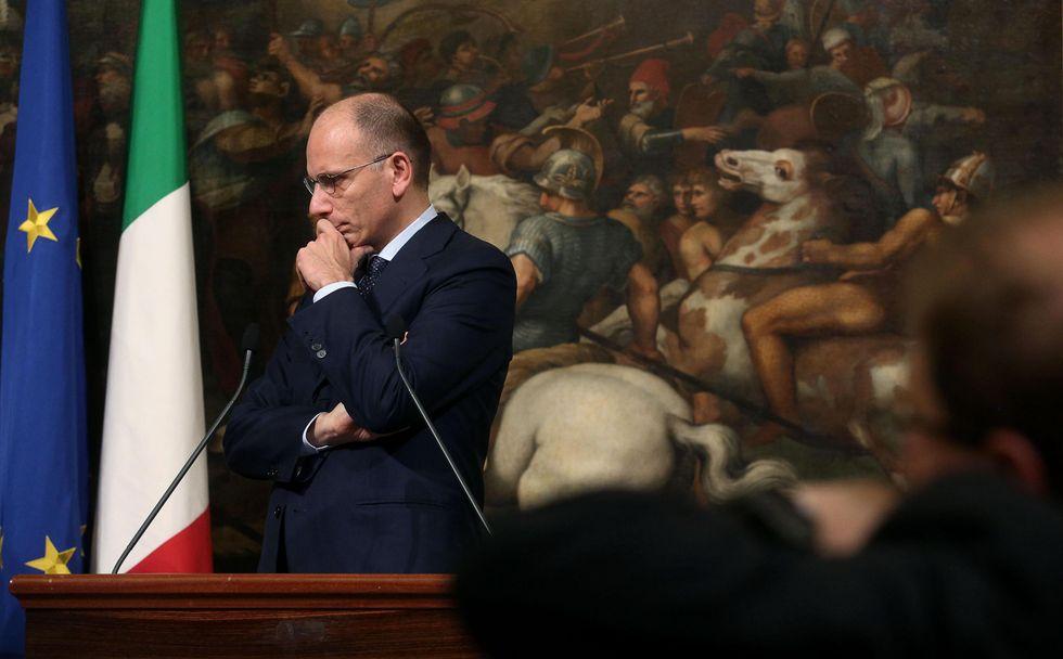 La bugia di Enrico Letta sui 14 euro