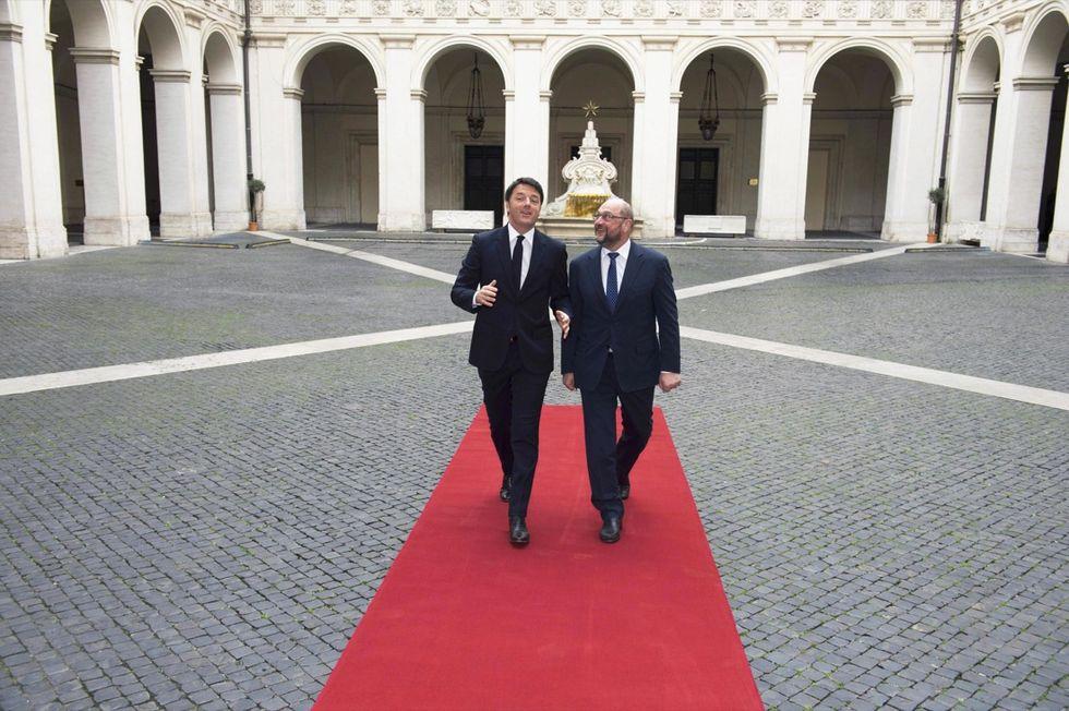 Renzi -Schulz
