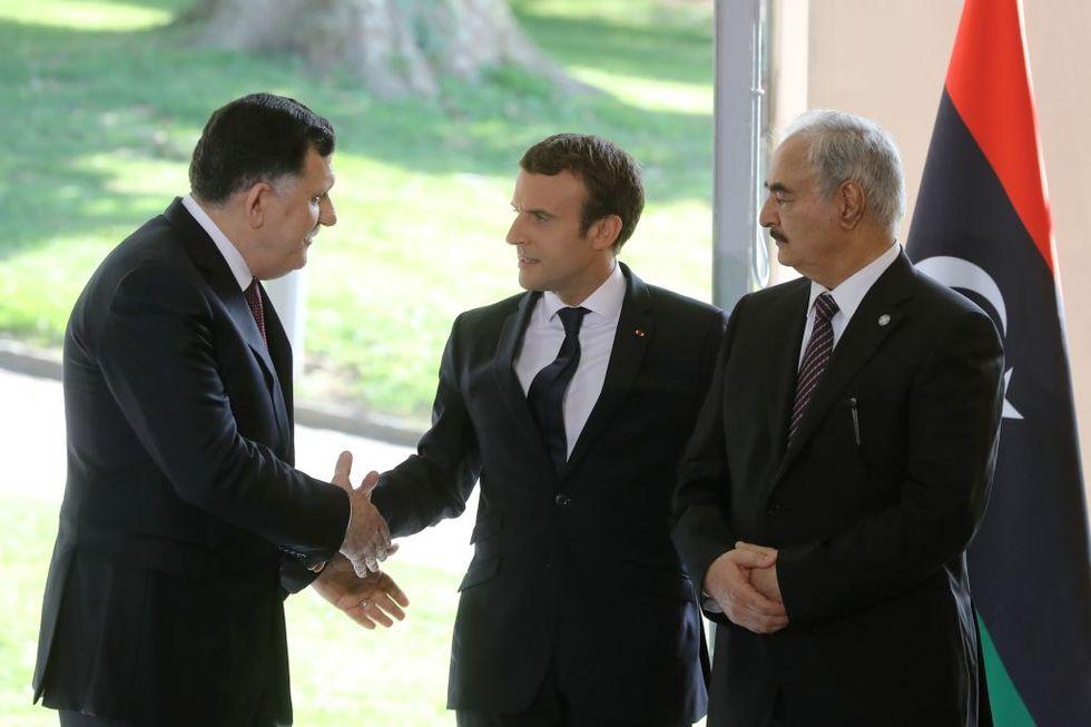 libia francia