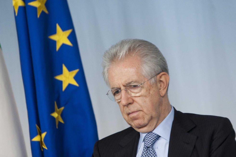 """Mario Monti: il Presidente """"idraulico"""""""