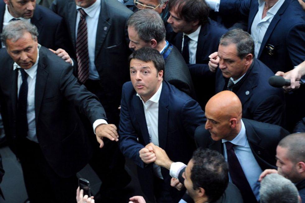 """""""The boy"""". Matteo Renzi e il suo senso del tapis rulant"""