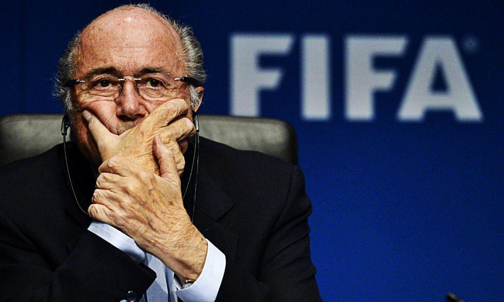 Blatter, padrone della Fifa e del calcio