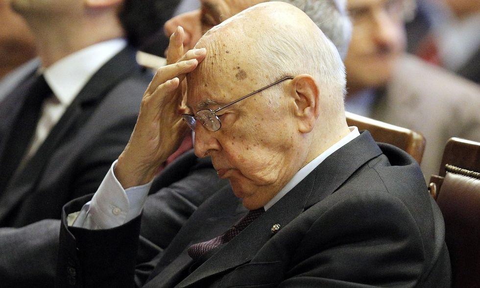 Caro presidente Napolitano
