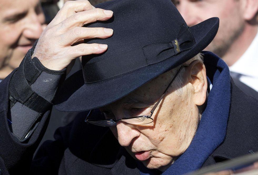 """Napolitano: """"Sono contento di tornare a casa"""""""