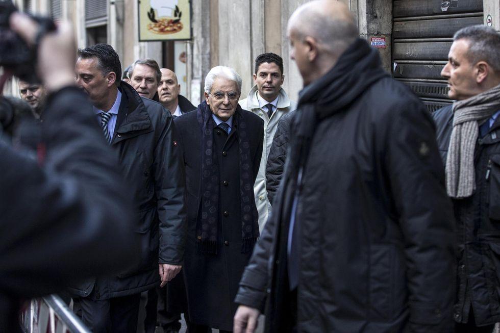 Tutti gli uomini di Sergio Mattarella
