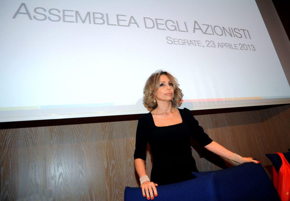 Marina Berlusconi risponde a De Benedetti