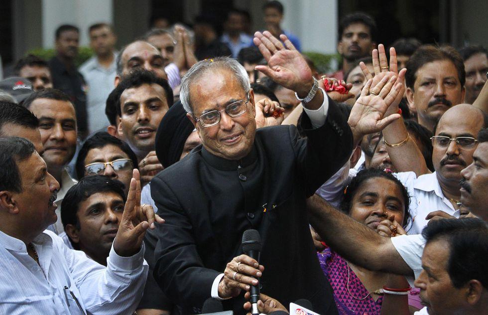 Con Pranab Mukherjee il Partito del Congresso mette al sicuro la presidenza dell'India