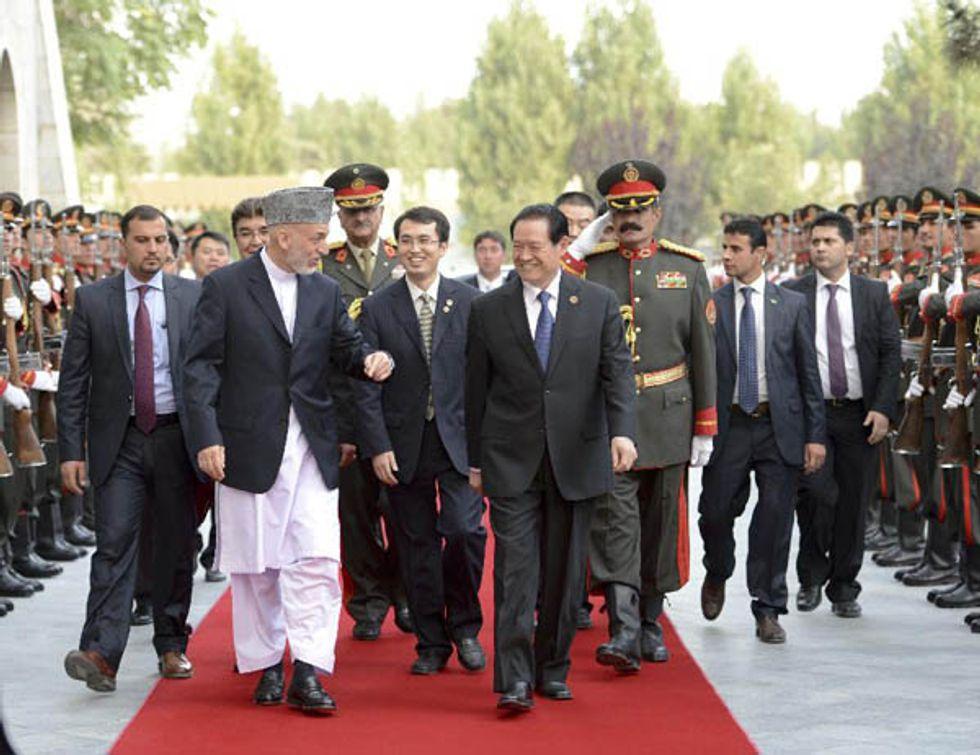 Pechino investe a Kabul