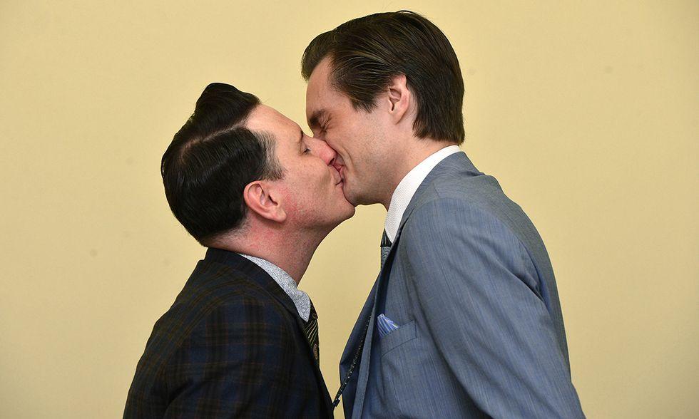 Il primo matrimonio gay in Irlanda