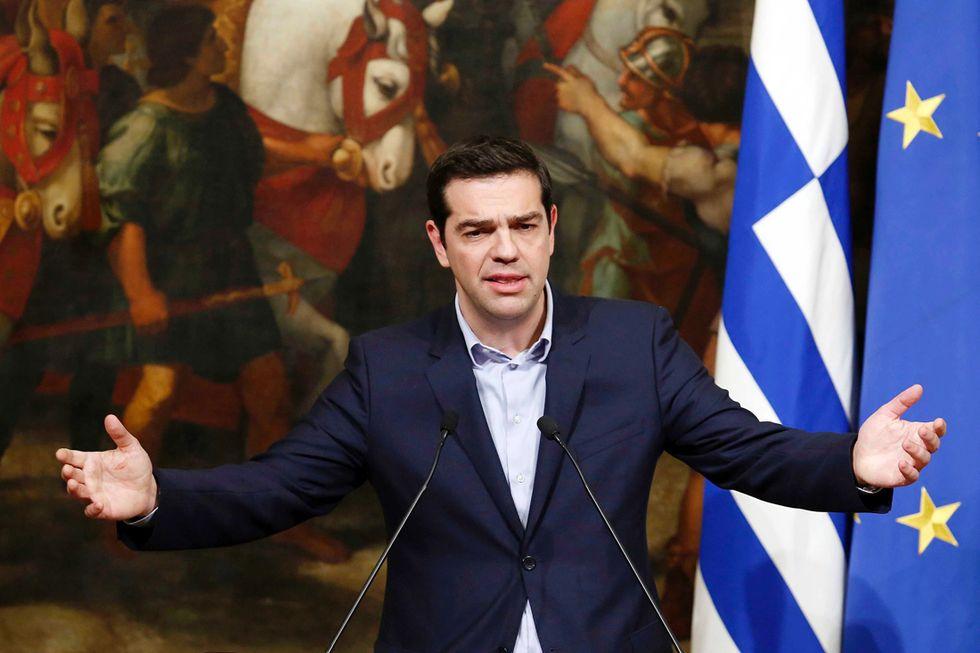 Grecia: nemici e amici di Tsipras